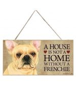 Plate decoration - French Bulldog Beige
