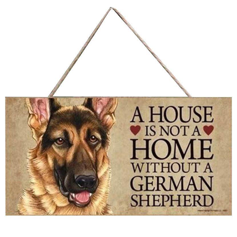 plaque berger allemand