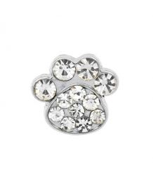 Small paw rhinestones for collar and harness customizable