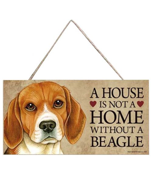 plaque beagle