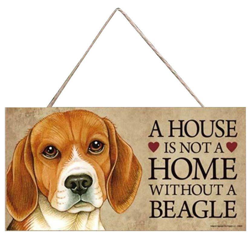 plaque beagle