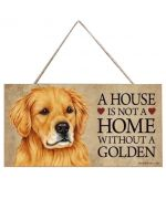 plaque golden retreiver