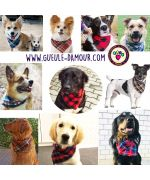 buying accessories for the dog daughter for the summer cheap gift scarf bandana round neck animal