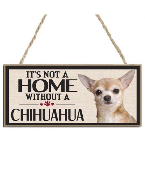 plaque chihuahua