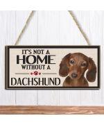 plaque dachshund