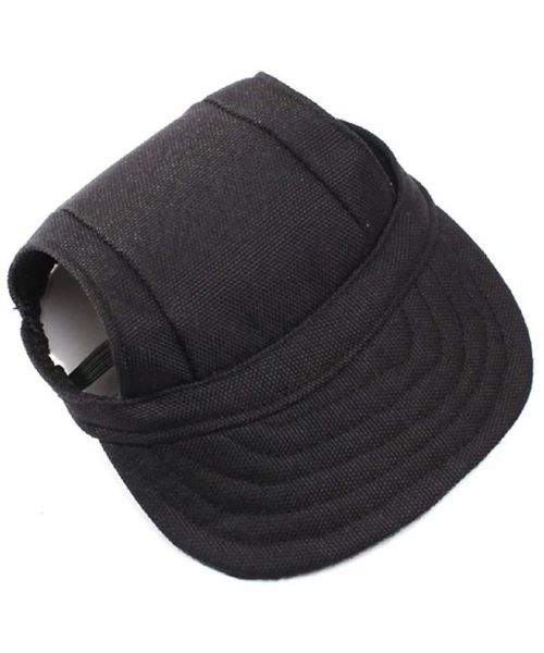 black baseball cap for dog