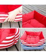 Basket for dog & cat Soft Blue