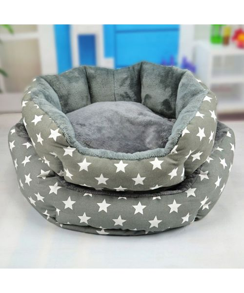 Basket for dog & cat Soft Blue