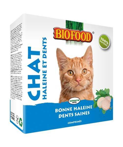 friandises haleine et dents pour chat