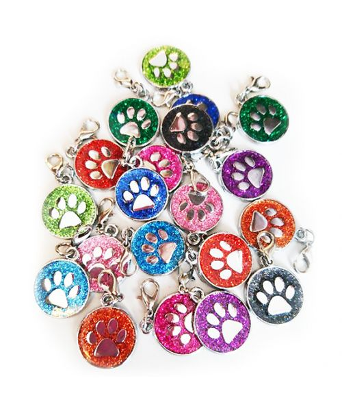 pendant sequin dog