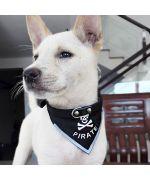 collier-pour-chien-bandana-foulard-noir-pirate