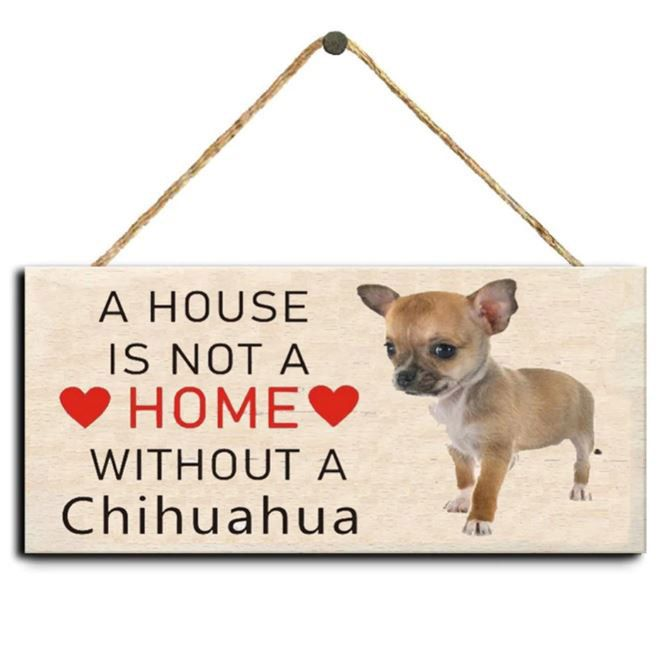 plaque maison chihuahua