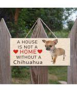 plaque maison race chihuahua