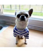 striped t-shirt for dog