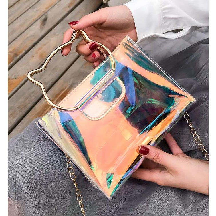 sac fille chat tendance