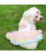 Dress for dog pink summer light