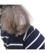 navy blue sailor sweater for dogs