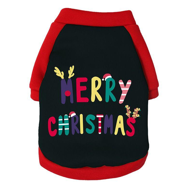 christmas merry christmas dog sweater