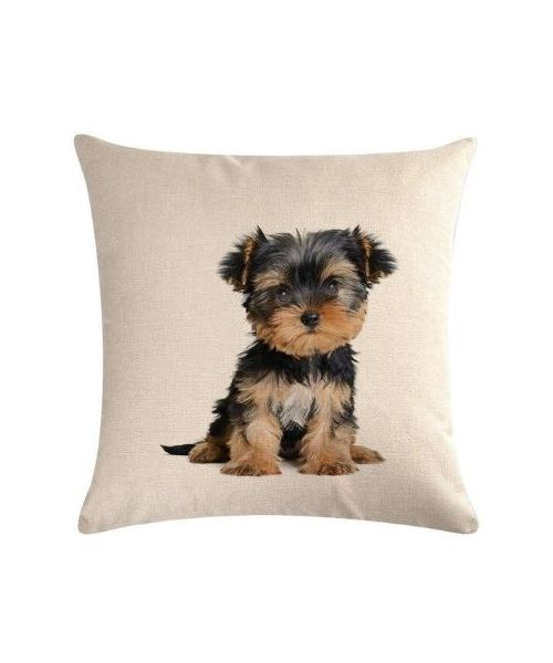 coussin yorkshire terrier