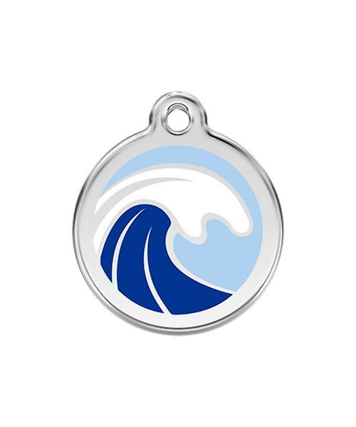 medaille pour chien mer