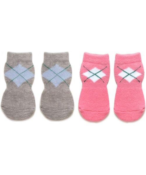 4 socks large dog grey labrador, boxer, cocker spaniel, delivery France, Belgium, Switzerland, Spain, Italy...