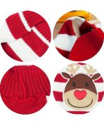 wool sweater red winter christmas dogs and cats