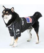 manteau de pluie pour chien de qualité coloris noir