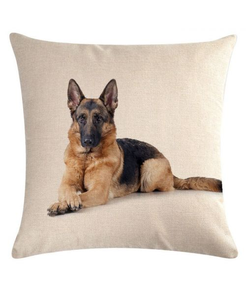 coussin berger allemand decoration