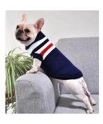 pull en laine pour Bouledogue Francais