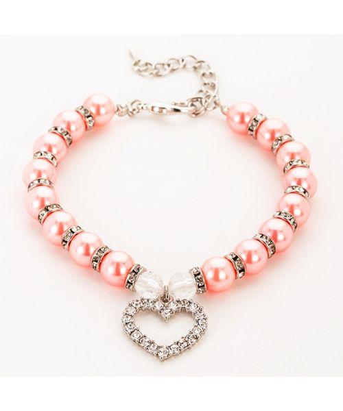 boutique de collier de perle pour chiens