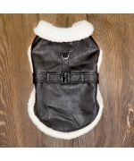 manteau pour chien noir chaud