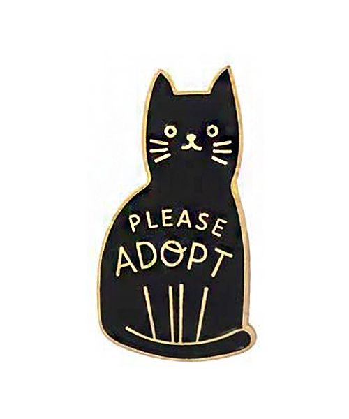 broche adoption animal