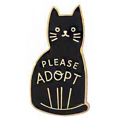 broche adoption animal