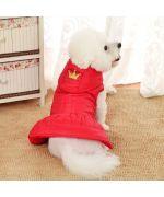 manteau pour petite chienne princesse