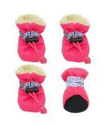 chaussures de neige pour petits chiens pas cheres