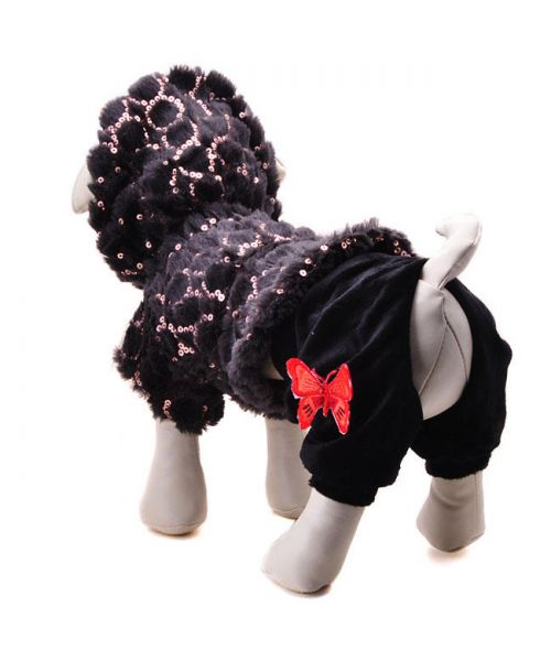 manteau en peluche pour chien