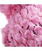 Coat pink for bulldog French with sequin embroidered cheap on Nancy, Paris, Marseille, Lyon, Montpellier, Metz
