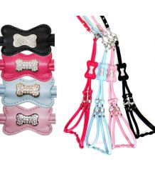 All harness and leash for cat and dog Step-In - light-Pink