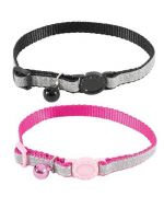 Collar for cat pink