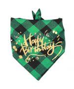 Happy birthday bandana for dog