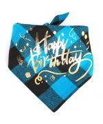 happy birthday dog scarf