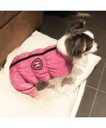 manteau rose pour chihuahua chaud