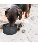 soft dog travel bowl