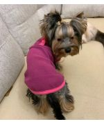 Sweater for dog and cat polar fleece - Chenille