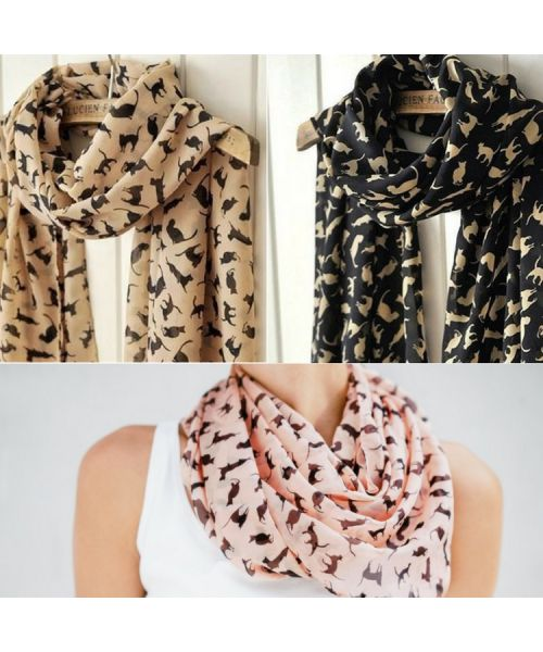 cat scarf for women