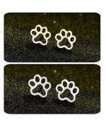 earring for girl, paw of cat