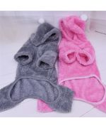 Plush sweater for dog and cat - Gray