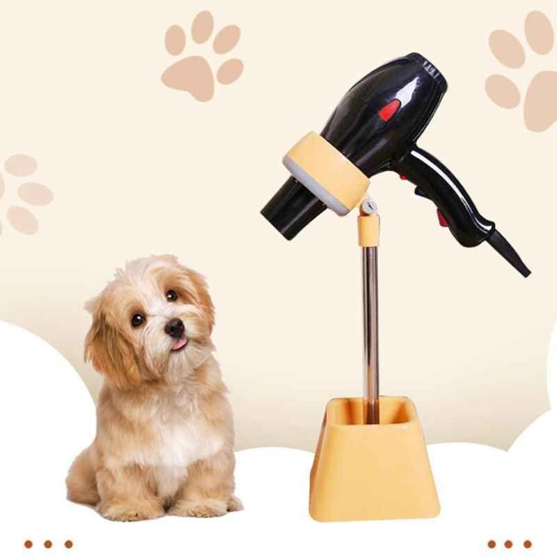 hand-free dog dryer holder