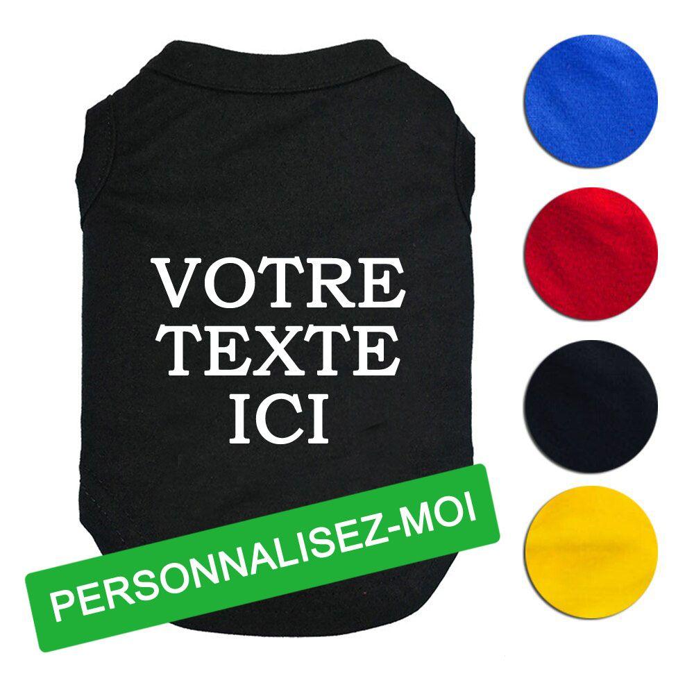 customizable dog tshirt