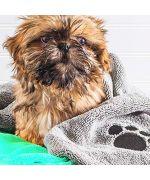 Serviette absorbante pour chien